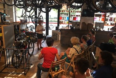 """Bikepacking 101"" clinic with Middle Coast WTF Bikepacking Collective"